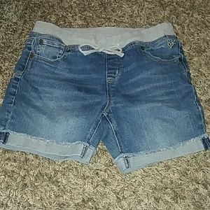 Justice Blue Jean Shorts Size 14.
